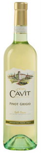 Cavit Pinot Grigio 2015 750ml - Case of 12